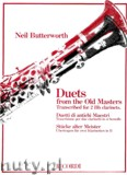 Okładka: Butterworth Neil, Duets From The Old Masters
