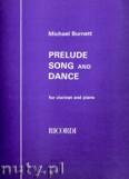 Ok�adka: Burnett Michael, Prelude, Song & Dance