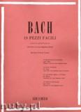 Okładka: Bach Johann Sebastian, 19 Pezzi Facili per pianoforte