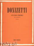Okładka: Donizetti Gaetano, Studio Primo per clarinetto