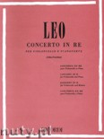 Okładka: Leo Leonardo, Concerto In D