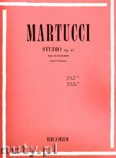 Okładka: Martucci Giuseppe, Studio, Op. 47 per Pianoforte