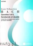 Ok�adka: Bach Johann Sebastian, Gavottes I And II, Sarabande et double