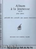 Okładka: Schumann Robert, Album A La Jeunesse, op. 68