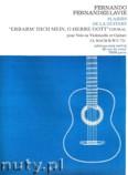 Okładka: Bach Johann Sebastian, Choral, BWV 721 pour Voix ou Violoncelle et Guitare