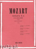 Ok�adka: Mozart Wolfgang Amadeusz, Sonata No. 6 In F Major, K332