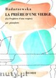 Okładka: Badarzewska Tecla, La Priére D'une Vierge