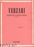 Okładka: Verzari Sandro, Esercizi Giornalieri per tromba