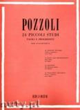 Ok�adka: Pozzoli Ettore, 24 Piccoli Studi Facili E Progressivi