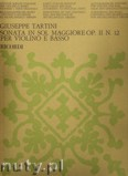 Okładka: Tartini Giuseppe, Sonata In G, Op. 11, No. 12