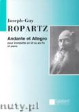 Okładka: Ropartz Joseph-Guy, Andante et Allegro