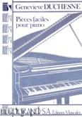 Okładka: Duchesne Genevieve, Pieces Faciles Pour Piano