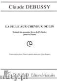 Ok�adka: Debussy Claude, La Fille Aux Cheveux De Lin