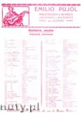 Okładka: Bach Johann Sebastian, Canon (Pujol 2006)