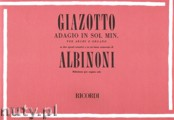 Ok�adka: Giazotto Remo, Adagio In G Minor On A Theme Of Albinoni