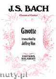 Okładka: Bach Johann Sebastian, Gavotte from Suite No. 6 For Cello for guitar
