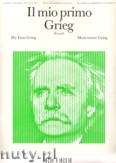 Ok�adka: Grieg Edward, Il Mio Primo Grieg