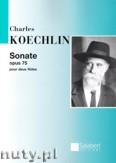 Okładka: Koechlin Charles, Sonata, Op. 75