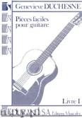 Okładka: Duchesne Genevieve, Picees Faciles, Book 1