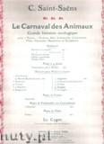 Okładka: Saint-Saëns Camille, Fossiles
