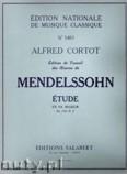 Okładka: Mendelssohn-Bartholdy Feliks, Etude In F, Op. 104, No. 2