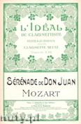 Okładka: Mozart Wolfgang Amadeusz, Serenade de Don Juan