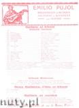 Okładka: Broqua Alfonso, Milongueos (Pujol 1213)
