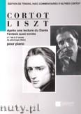 Okładka: Liszt Ferenc, Apres une lecture du Dante. Fantasia quasi sonata pour piano