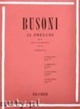 Ok�adka: Busoni Ferruccio Benvenuto, 24 Preludi, Op. 37 - Volume 2