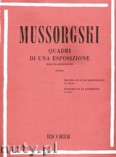 Ok�adka: Musorgski Modest, Quadri Di Una Esposizione per pianoforte