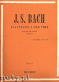 Okładka: Bach Johann Sebastian, 2 Part Inventions