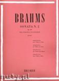 Okładka: Brahms Johannes, Sonata No. 2, Op. 100 per Violino e Pianoforte