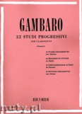 Okładka: Gambaro Giovanni Battista, 22 Progressive Studies