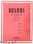 Okładka: Brahms Johannes, 51 Exercises, Vol. 1
