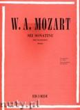 Okładka: Mozart Wolfgang Amadeusz, 6 Sonatine