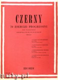 Okładka: Czerny Carl, 70 Esercizi Progressivi