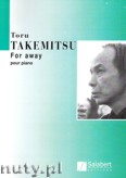 Okładka: Takemitsu Toru, For Away