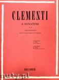 Okładka: Clementi Muzio, 6 Sonatinas, Op. 36