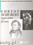 Okładka: Schubert Franz, Douze Ländler pour piano, Op. 171