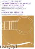 Ok�adka: Teuchert Heinz, Musica Europea - Volume 5: Spanish Masters