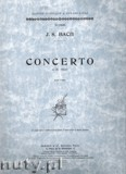 Okładka: Bach Johann Sebastian, Koncert d-moll na fortepian, BWV 1052