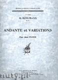 Okładka: Schumann Robert, Andante et Variations, Op. 46