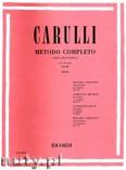 Okładka: Carulli Ferdinando, Método Completo per Chitarra in 3 Volumi - Vol. 3