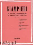 Okładka: Giampieri Alamiro, 16 Studi Giornalieri Di Perfezionamento per Oboe