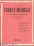 Okładka: Diabelli Antonio, Czerny Carl, 40 Melodic Exercises