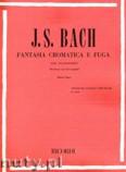 Ok�adka: Bach Johann Sebastian, Fantasia Cromatica E Fuga Chromatic