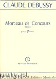 Ok�adka: Debussy Claude, Morceau De Concours
