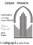 Okładka: Franck César, Cantabile