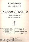 Okładka: Saint-Saëns Camille, Mon Coeur S'ouvre Ó Ta Voix (From Samson Et Dalila)