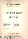 Okładka: Saint-Saëns Camille, Prelude Le Déluge